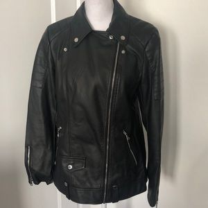 Express Women's Faux Leather Jacket - NWOT